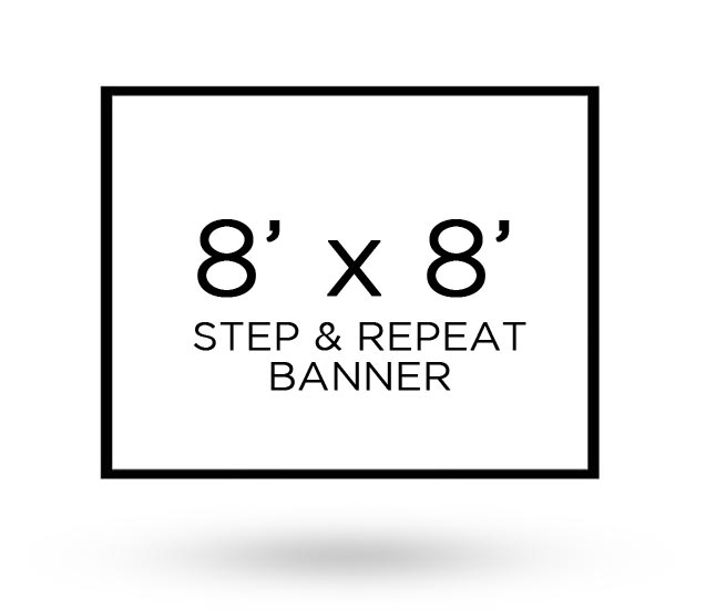 step and repeat banner 8 x 8 axisflyers. Black Bedroom Furniture Sets. Home Design Ideas
